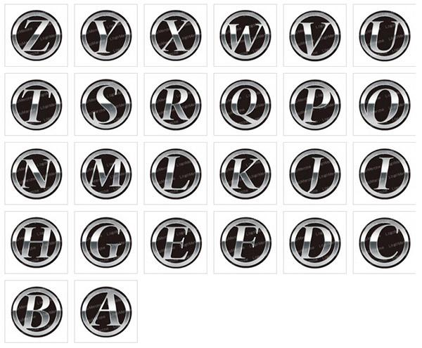 アルファベットのロゴ